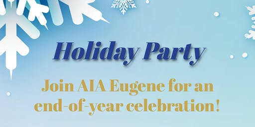 AIA Eugene 2019 Holiday Party