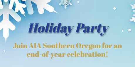 AIA Southern Oregon 2019 Holiday Party tickets