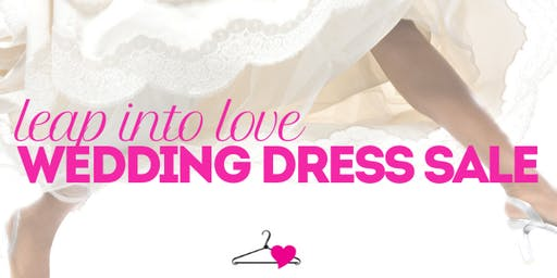 Leap Into Love Wedding Dress Sale