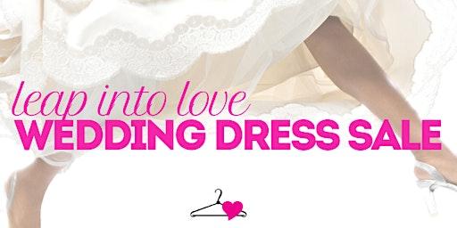 Leap Into Love Wedding Dress Sale