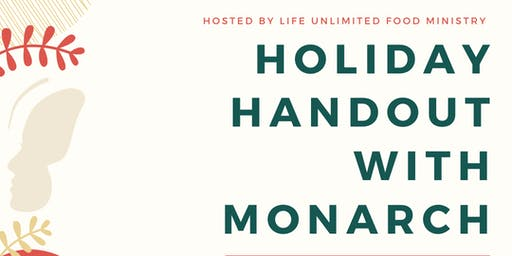 Holiday Handout with Monarch