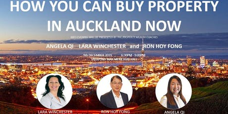 How You Can Buy Property In The Auckland Market Now tickets