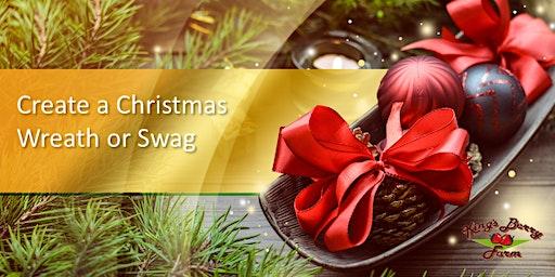 Create a Christmas Wreath or Swag