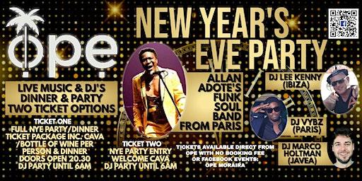 New Years Eve @ Ope Moraira
