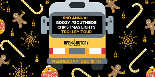 2nd Annual Boozy #Southside Christmas Trolley Tour