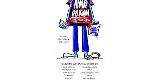 HAND DRAWN,  A PBR Art Show