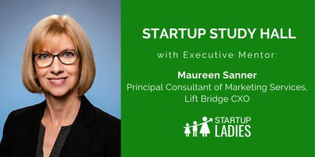 Startup Study Hall with Maureen Sanner tickets
