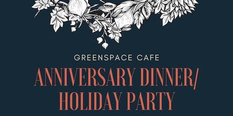 Anniversary/Holiday Dinner tickets