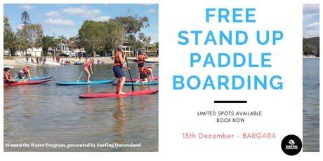 FREE Stand Up Paddle Boarding - Bargara tickets