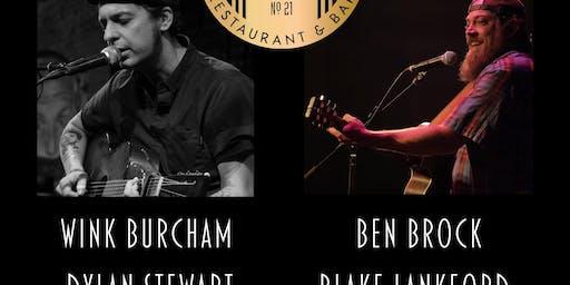 Wink Burcham - Ben Brock - Dylan Stewart - Blake Lankford LIVE at VZD