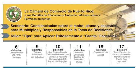 """Talleres: """"Tips"""" para Solicitar Exitosamente  """"Grants""""  Federales entradas"""