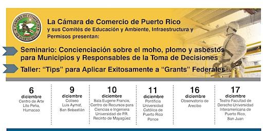 """Talleres: """"Tips"""" para Solicitar Exitosamente  """"Grants""""  Federales"""