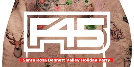 F45 Santa Rosa Bennett Valley Ugly Sweater Holiday Party