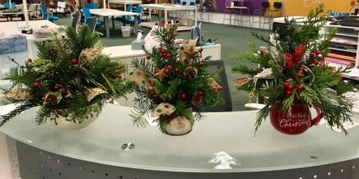 Holiday Centerpiece with Pam