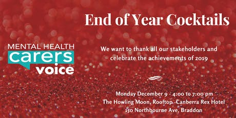 Mental Health Carers Voice EOY Cocktails tickets
