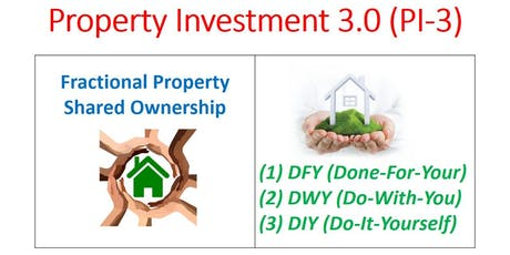 Fractional Property (Done-For-You / Do-With-You / Do-It-Yourself) tickets