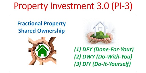 Fractional Property (Done-For-You / Do-With-You / Do-It-Yourself)