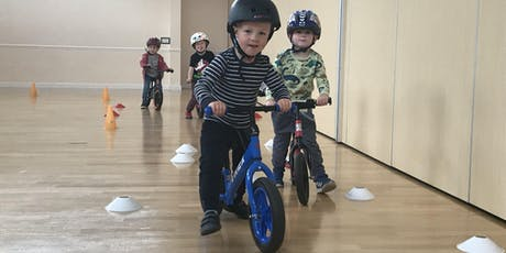 Balance Bike Course (Sat 18th, 25th Jan, 1st & 8th February) - 2.00-2.45pm tickets