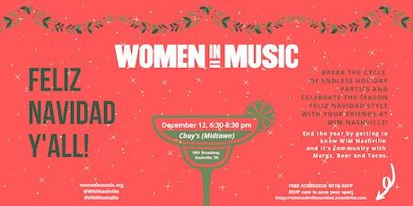 WIM Nashville Presents: Feliz Navidad! tickets