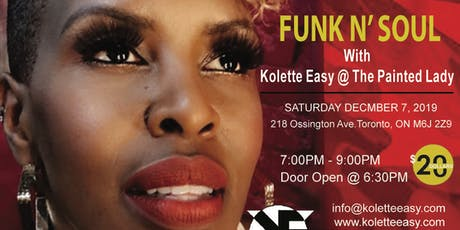 Eazy & Intimate - A Night of Funk N' Soul With Kolette Easy tickets