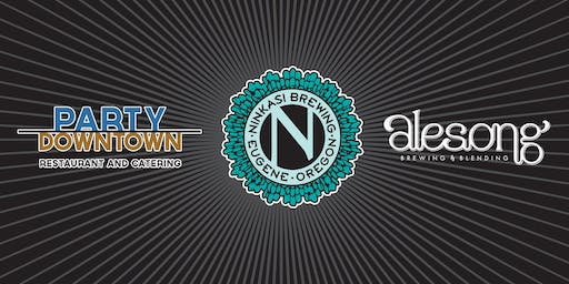 Ninkasi + Party Downtown + Alesong Collab Dinner