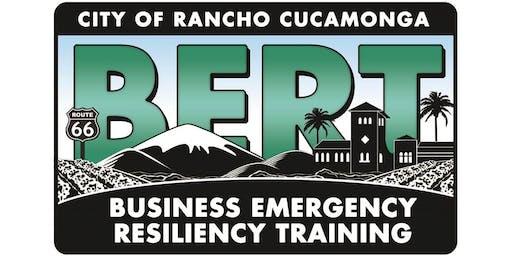 BERT Unit #1: Disaster Business Operations