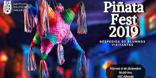 PiñataFest 2019 (Despedida de alumnos Visitantes)