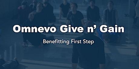 Omnevo Give n' Gain tickets