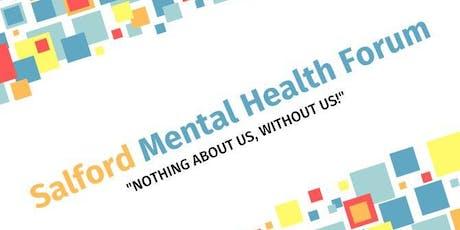 Salford Mental Health Forum Panel Event tickets