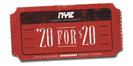 20 for 20 the New Years Eve Celebration tickets