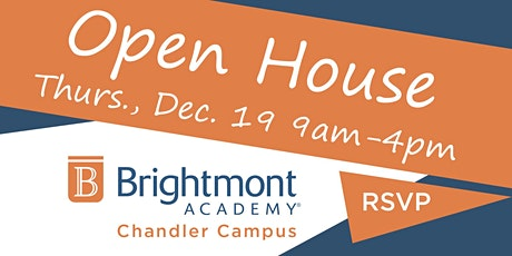 Brightmont Academy - Chandler Open House tickets