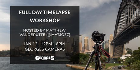 Full Day Timelapse Workshop with Matthew Vandeputte (@matjoez) tickets