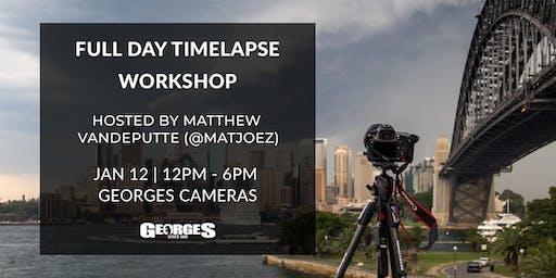 Full Day Timelapse Workshop with Matthew Vandeputte (@matjoez)