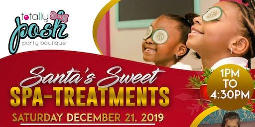 Totally Posh Santa's Sweet Spa Day