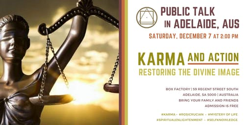 "Public Talk in Adelaide - ""Karma and Action - restoring the divine image"""
