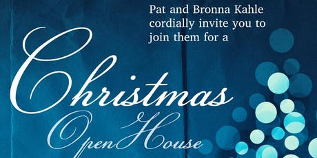 Kahle Christmas Open House tickets