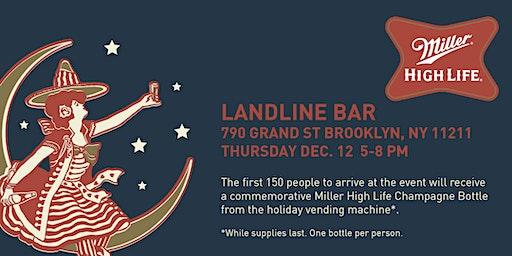 Miller High Life Vending Machine @ Landline Bar