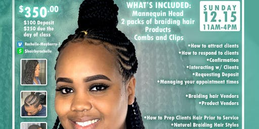 Braiding 101 at The Beauty Bar of Sacramento