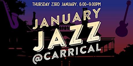 January Jazz tickets