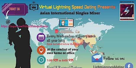 Wednesdays Virtual Speed Dating: Asian Singles Virtual Mixer tickets