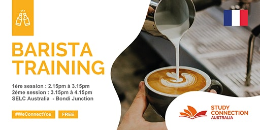 FREE BARISTA TRAINING WITH STUDY CONNECTION
