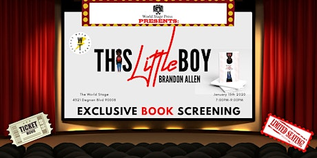 "BOOK RELEASE: ""This Little Boy"" by Brandon Allen tickets"
