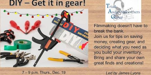 DIY - Get it in gear!