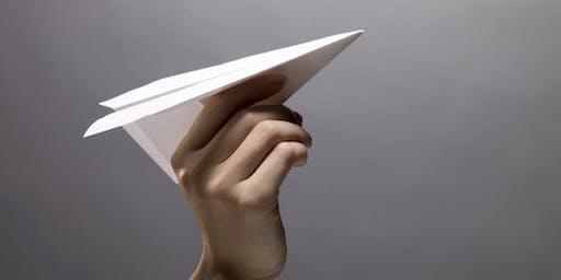 Free School Holiday Activity: Paper Plane Extravaganza!