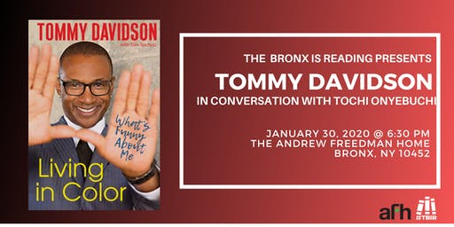 The Bronx is Reading Presents: Tommy Davidson at The Andrew Freedman Home