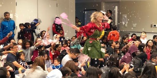 NORTHSIDE: The Bubble Lady's Holiday Bubble Show (Recommended for Ages 3 and up)