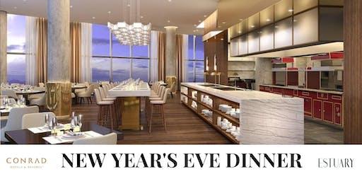 New Year's Eve Dinner at Estuary Hotel Conrad Washington DC