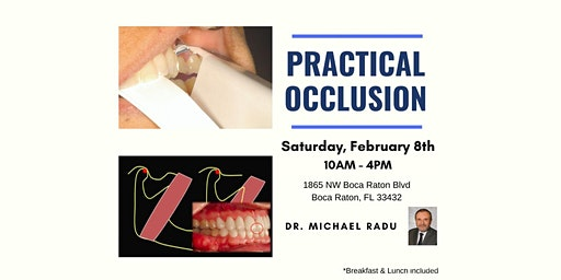 Practical Occlusion (February 8th)