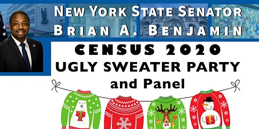 2020 Census Ugly Sweater Party