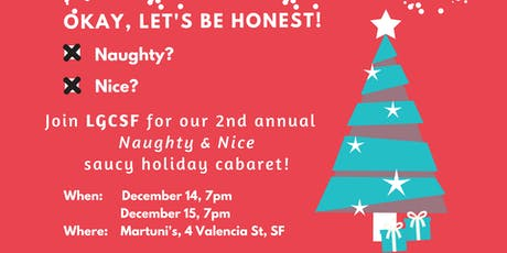 LGCSF Present Naughty and Nice tickets